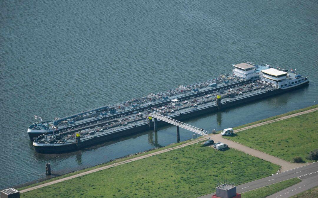 Proef gemengd afmeren binnenvaartschepen met gevaarlijke stoffen