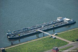 Proef gemengd afmeren binnenvaartschepen met gevaarlijke stoffen 1