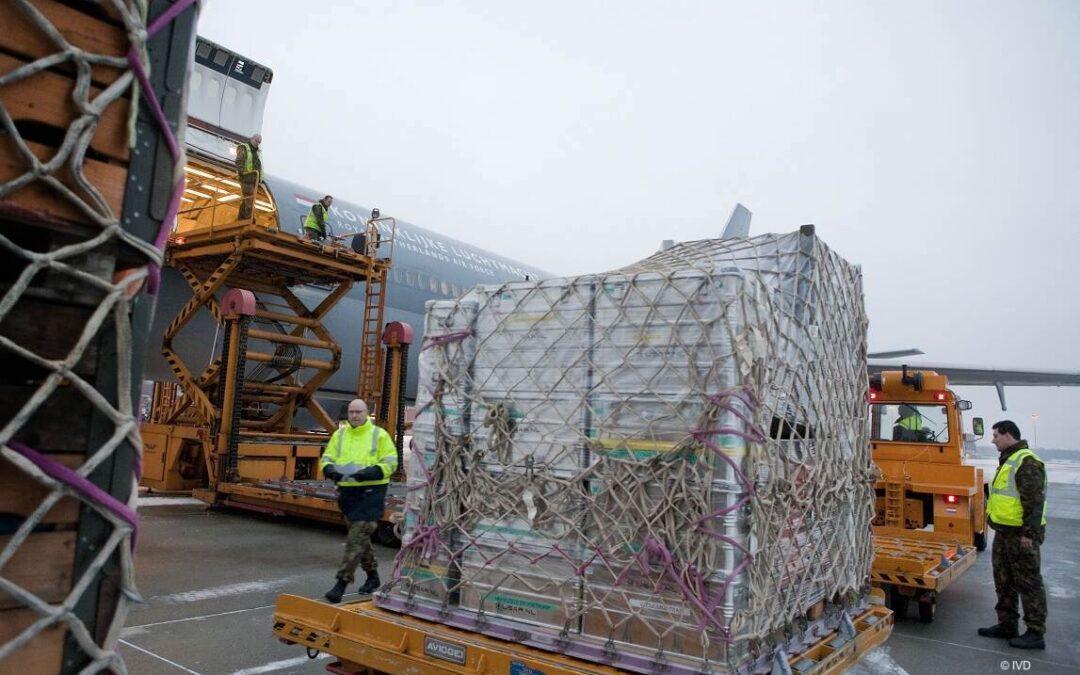 Knelpunten binnen keten vervoer gevaarlijke stoffen Defensie