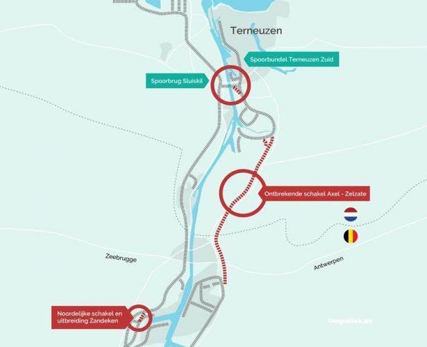 Nederland, België en Vlaanderen samen aan de slag met spoorontwikkeling North Sea Port 1