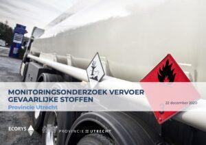 Onderzoek naar het vervoer van gevaarlijke stoffen op provinciale wegen 1