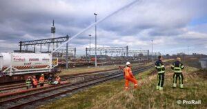 Vervoer gevaarlijke stoffen emplacement Waalhaven Zuid hervat 1