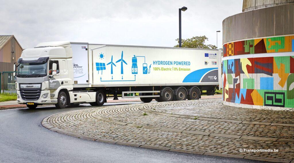 Meer waterstoftrucks in België in 2025 1