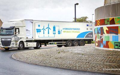 Meer waterstoftrucks in België in 2025