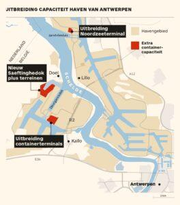 Stikstof bedreigt havenuitbreiding Antwerpen 1