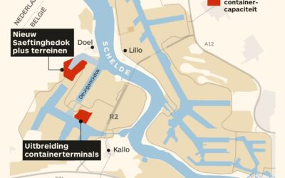 Stikstof bedreigt havenuitbreiding Antwerpen