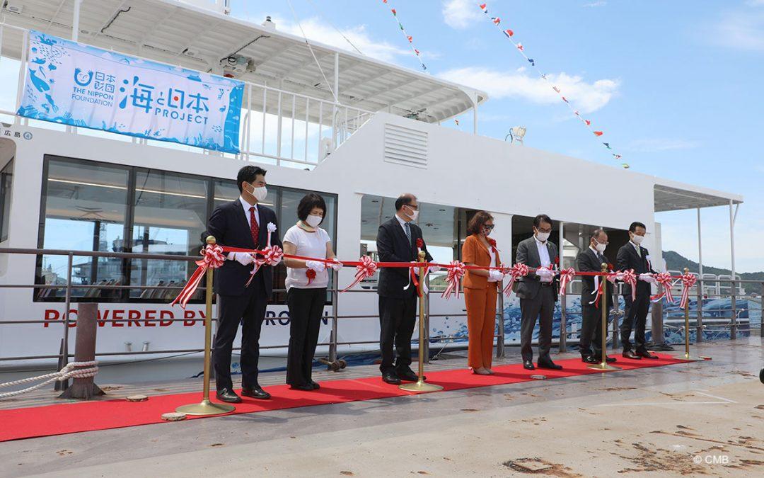 HydroBingo: 's werelds eerste ferry op waterstof